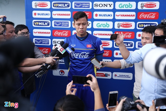 'Muc tieu cua tuyen Viet Nam la vuot qua vong bang Asian Cup 2019' hinh anh 1
