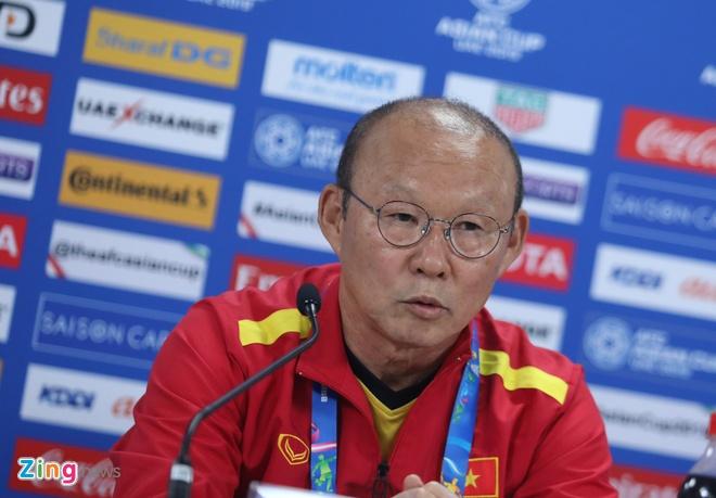 HLV Park Hang-seo: 'The luc la dieu dang lo cua Viet Nam khi gap Iraq' hinh anh 1