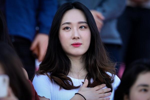 Hang nghin nguoi ham mo tuyen Han Quoc co vu Son Heung-min hinh anh