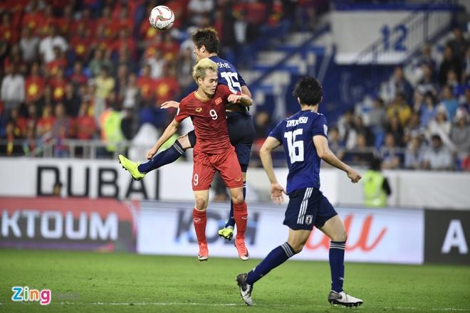 Tuyển Nhật Bản giành chiến thắng tối thiểu trước Việt Nam ở tứ kết Asian Cup 2019. Ảnh:Thuận Thắng.