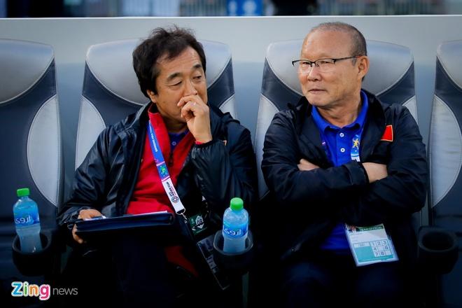HLV Park Hang-seo dan dat U22 Viet Nam tham du SEA Games 2019 hinh anh 1