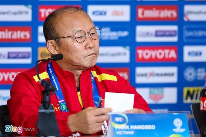 HLV Park Hang-seo: 'U23 Viet Nam hien nay khong bang lua Thuong Chau' hinh anh 1