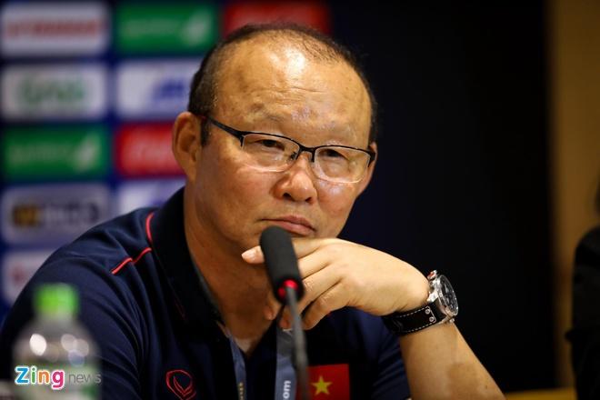 HLV Park: 'U23 Viet Nam thang may man, toi khong hai long voi doi' hinh anh 1