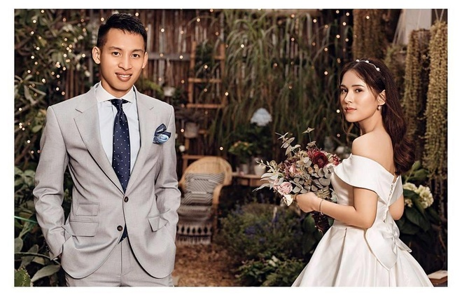 Tien ve Hung Dung moi cuoi bau Hien anh 2