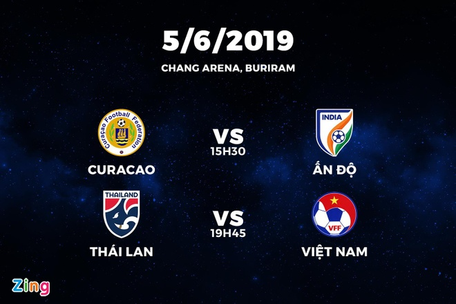 Tuyen Curacao mang tien ve Premier League toi du King's Cup 2019 hinh anh 2