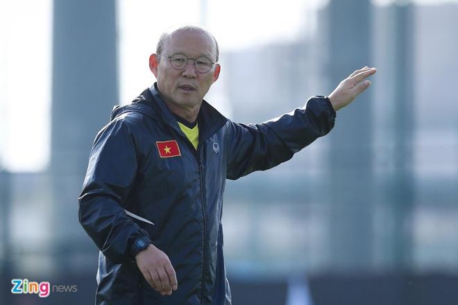HLV Park Hang-seo khong du le boc tham vong loai World Cup chau A hinh anh 1
