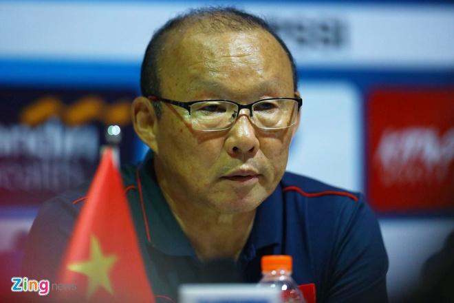 HLV Park Hang-seo: 'Tuyen Viet Nam co the thang Thai Lan, UAE' hinh anh 1