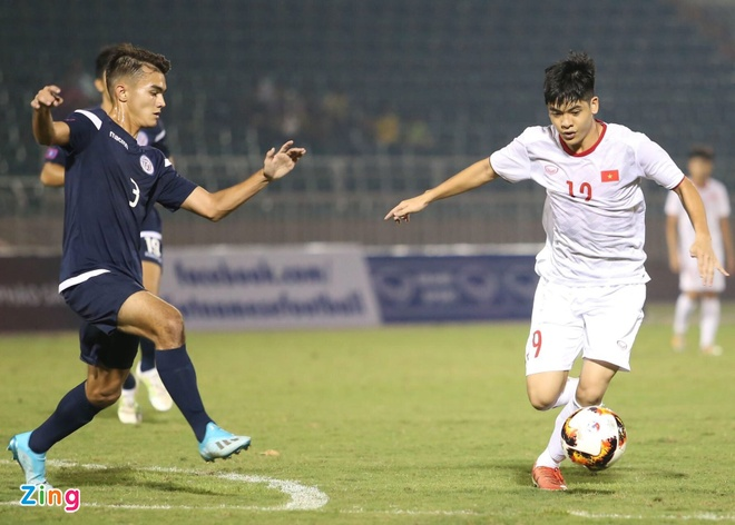 U19 Viet Nam gianh chien thang 4-1 truoc Guam tai vong loai chau A hinh anh 1