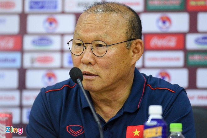 HLV Park tin Cong Phuong se ghi ban vao luoi Thai Lan hinh anh 1