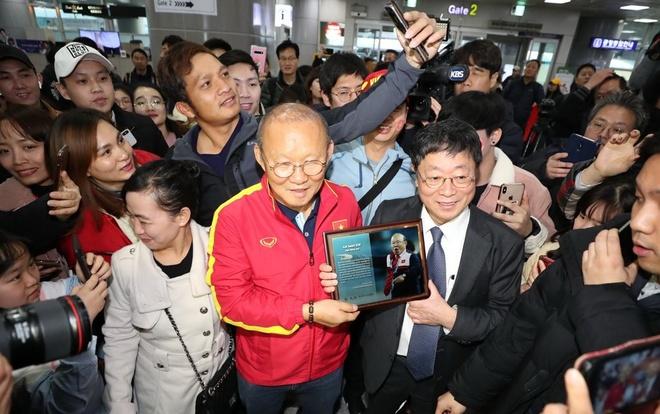 U23 Viet Nam da giao huu voi doi hang Ba Han Quoc hinh anh 1 Park_Han_Quoc.jpg