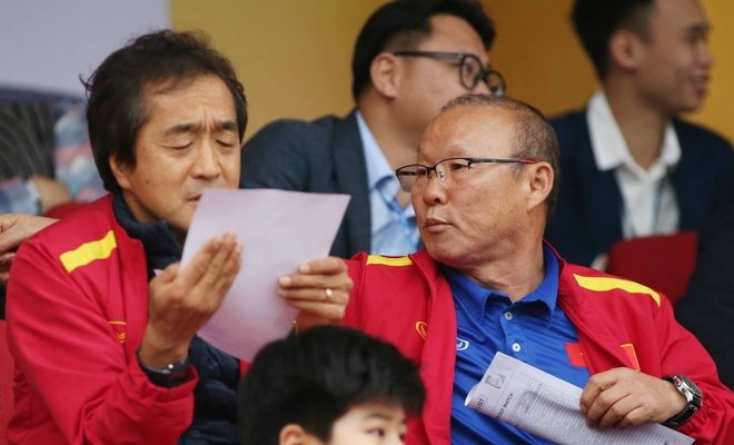 Park Hang-seo Tuyen Viet Nam anh 1