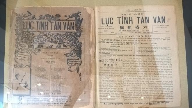 "Nha bao Truong Vinh Ky nam to ""Gia Dinh bao"" nam nao? anh 7"