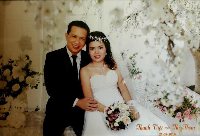 Tu hinh ke giet thai phu truoc ngay cuoi hinh anh 2 Chị Thơm đã mang thai 4 tháng và dự định tổ chức đám cưới vào tháng 7.
