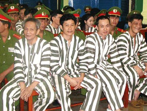 Nhung phien toa dong ky luc o Viet Nam hinh anh 2 Phiên xử Năm Cam giữ nhiều kỷ lục trong lịch sử tố tụng Việt Nam.