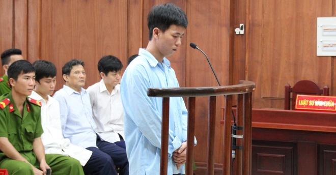Hung thu giet thai phu truoc ngay cuoi khong duoc giam an hinh anh 1 Sơn tại phiên tòa phúc thẩm.