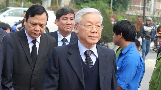 Lanh dao Dang, Nha nuoc tiec thuong ong Ba Thanh hinh anh