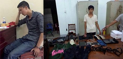 Nhung tiet lo chua cong bo trong vu tham an o Binh Phuoc hinh anh 1 Nguyễn Hải Dương và Vũ Văn Tiến cùng tang vật.