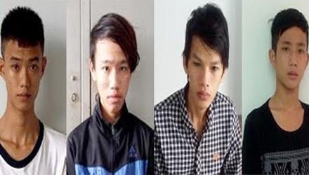 Bat 4 nghi pham vu truy sat o san chua Vinh Trang hinh anh
