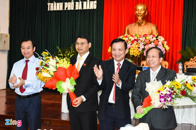 Bi thu Cam Le lam Pho chu tich UBND Da Nang hinh anh 1