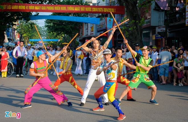 23 quoc gia trinh dien le hoi duong pho Festival Hue hinh anh 7