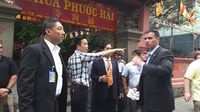 An ninh that chat o Sai Gon don Tong thong Obama hinh anh