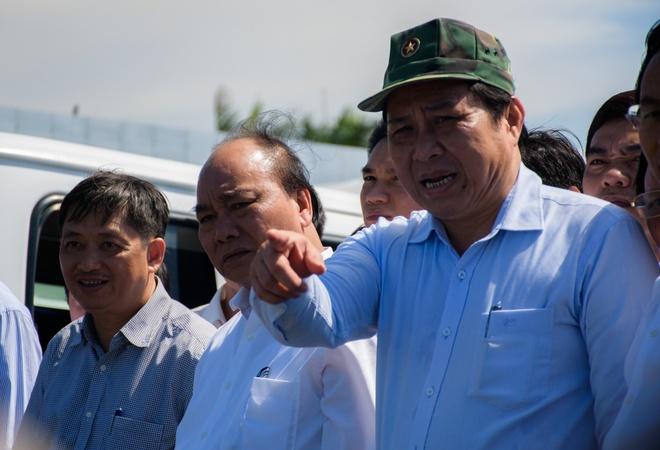 Thu tuong lam viec voi Da Nang vu tau chim tren song Han hinh anh