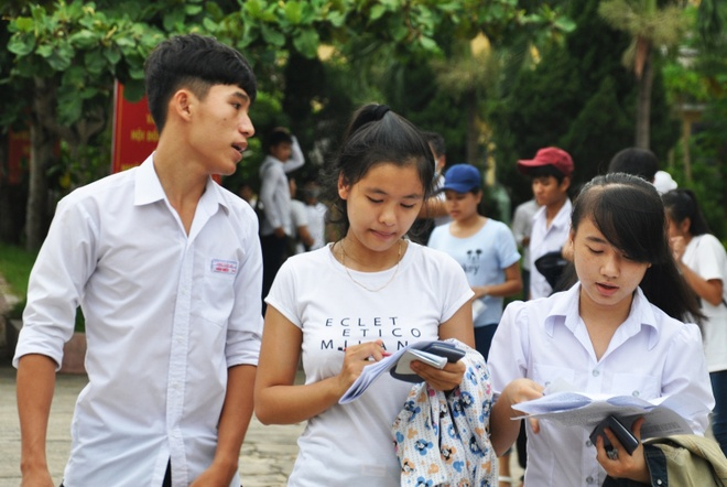Ky thi THPT 2016 tai Da Nang, Quang Ngai khong co diem 10 hinh anh