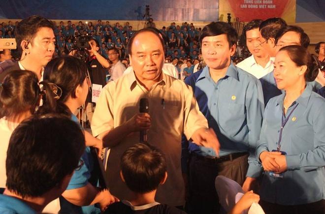 Thu tuong: 'Phai doi xu binh dang voi nguoi lao dong' hinh anh