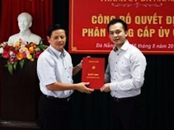 Ong Nguyen Ba Canh lam Pho ban Dan van Thanh uy Da Nang hinh anh