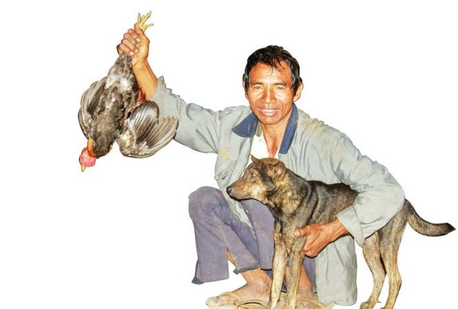 Cho 'thien chien' o Krong Pa hinh anh