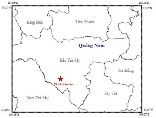 3 ngay xay ra 6 tran dong dat o Quang Nam hinh anh 1