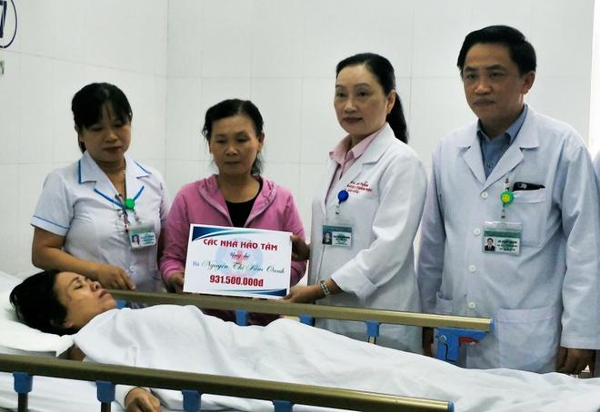 Bon nan nhan trong vu xe ruoc dau gap nan o Quang Nam da tinh tao hinh anh 1