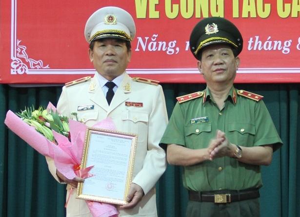 Thieu tuong Vu Xuan Vien lam Giam doc Cong an TP Da Nang hinh anh
