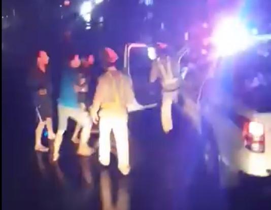 CSGT đánh nhau với tài xế: Thông tin bất ngờ về nhóm người trên xe tải
