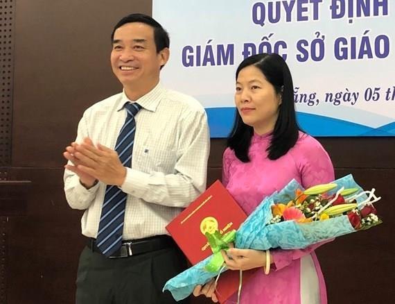 Ba Le Thi Bich Thuan duoc bo nhiem la Giam doc So GD&DT Da Nang hinh anh 1