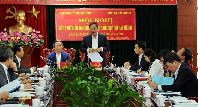 Ong Nguyen Van Binh noi ve dinh huong phat trien cong nghiep o Hai Duong anh 2