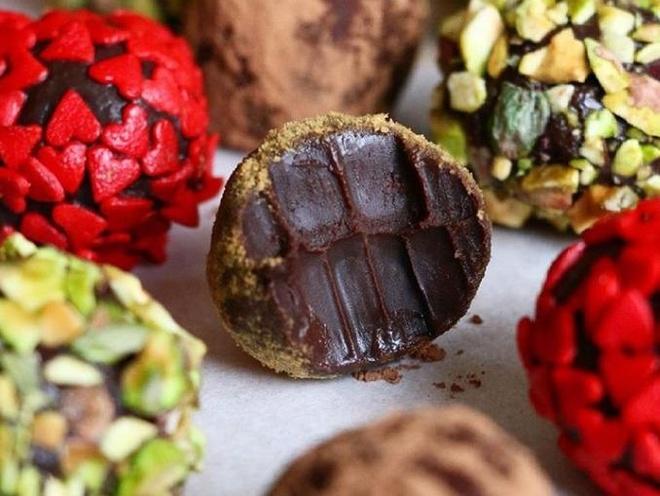 Chocolate mau - mon qua kinh di ngay Valentine cua con gai Nhat Ban hinh anh