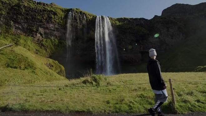 'So' fan Justin Bieber, khu du lich Iceland phai tam dong cua hinh anh 1