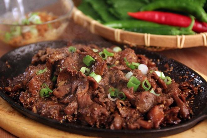 Toi nay an gi: Bo sot BBQ Han Quoc thom ngon kho cuong hinh anh