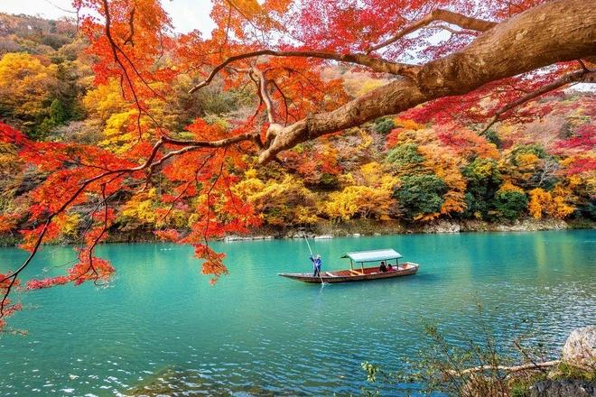 Cảnh sắc 4 mùa tựa chốn thần tiên ở Nhật Bản