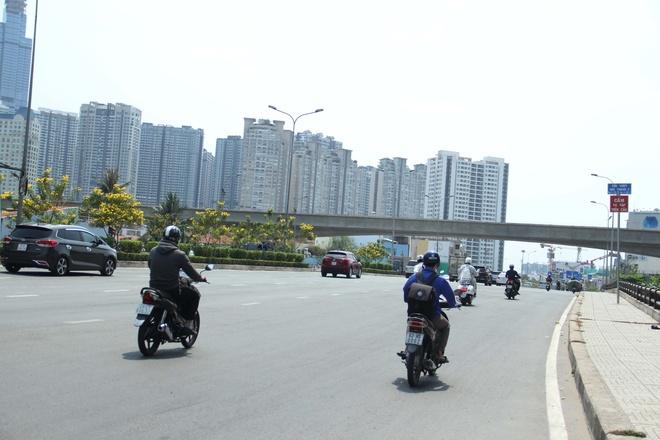 Nang cap duong Nguyen Huu Canh de chong ngap tu thang 11 hinh anh 1