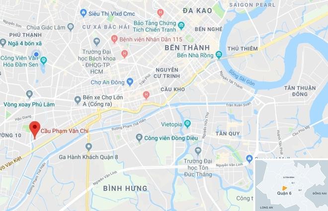 Chi 100 ty giam do doc cau Pham Van Chi o Sai Gon hinh anh 2