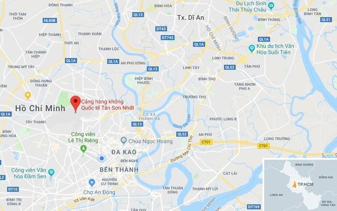 May phat hong, san bay Tan Son Nhat mat dien 3 phut hinh anh 2