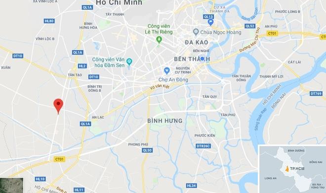 Tong vao duoi xe ba gac cho hang cong kenh, 9X tu vong tai cho hinh anh 2