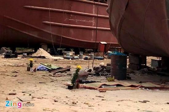 Nhân chứng kể khoảnh khắc nổ ở xưởng đóng tàu làm 2 người chết