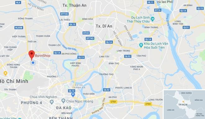 Hẻm 434 Phạm Văn Chiêu nơi xảy ra vụ tai n.ạn. Ảnh:Google Maps.