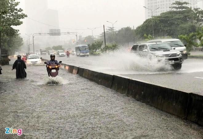Dự án sửa đường Nguyễn Hữu Cảnh để chống ngập khởi công tháng 6