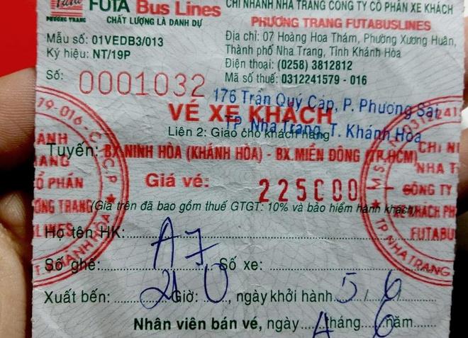 Nu hanh khach bi tiep vien xe Phuong Trang sam so trong dem hinh anh 1