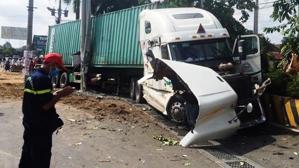 """Tài xế gây tai nạn làm 5 người chết ở Tây Ninh khai """"do buồn ngủ"""""""