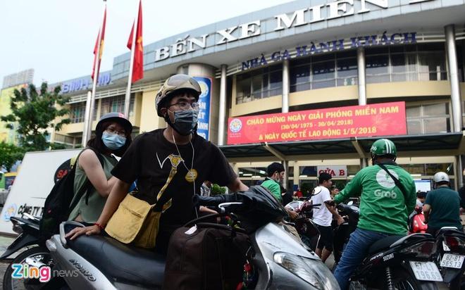 Giá vé xe khách ở Sài Gòn không tăng quá 40% dịp lễ 2/9